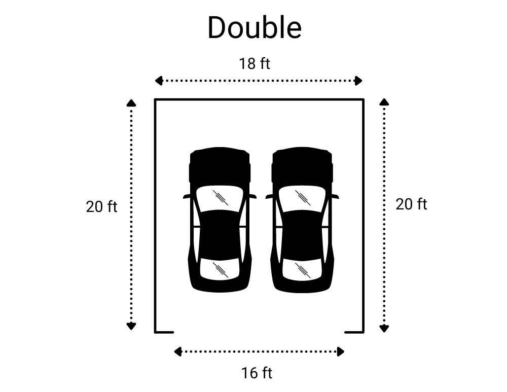 Double Garage Size