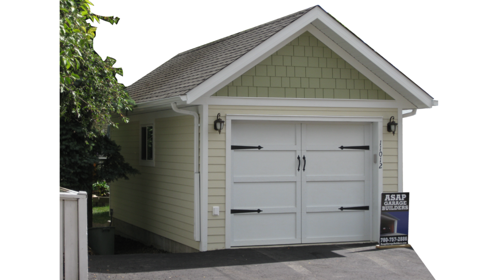 Garage roof style