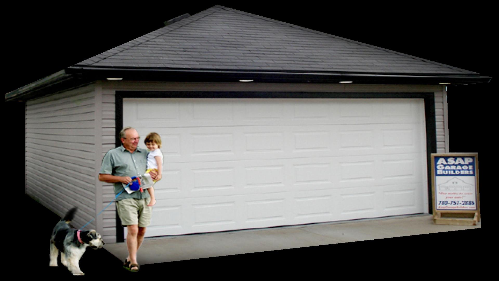 High quality garage built fast