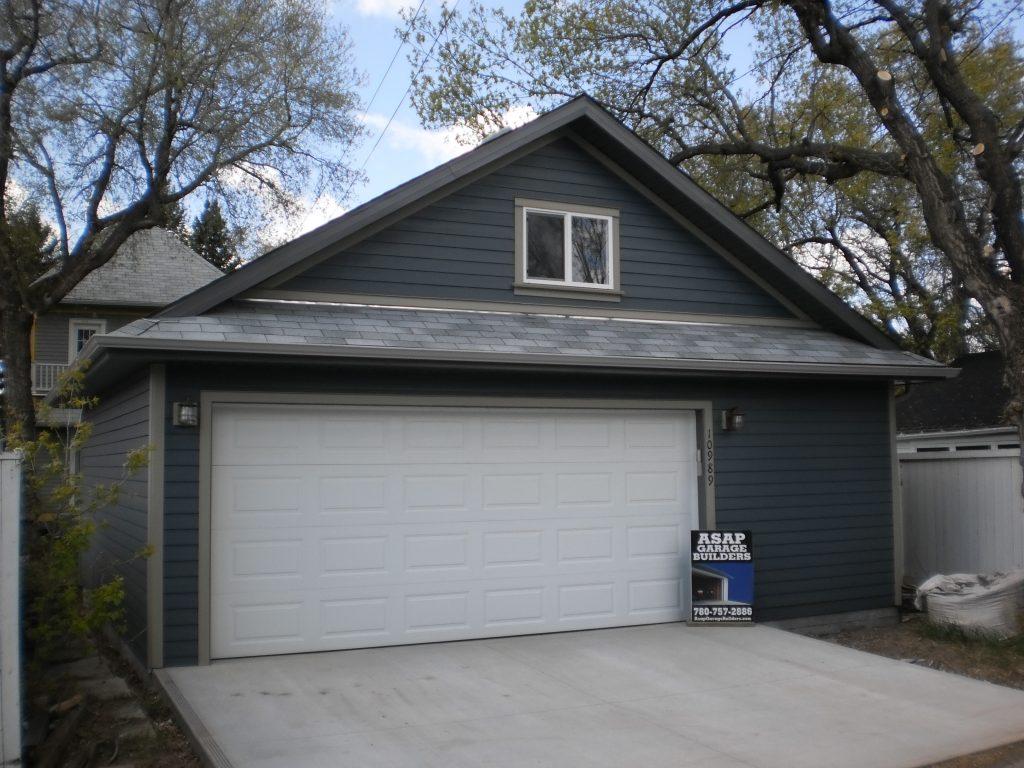 Dutch gable garage roof