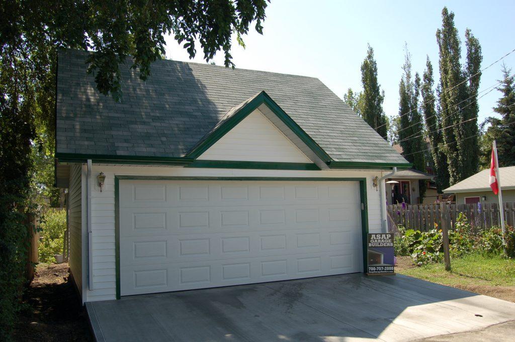 Reverse Gable with Fake Dormer garage roof